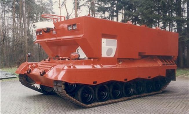 Lucha contra el fuego. Leopard_1_Jumbo_firefighting_tank